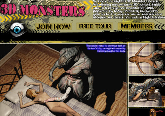 Monsters in 3D